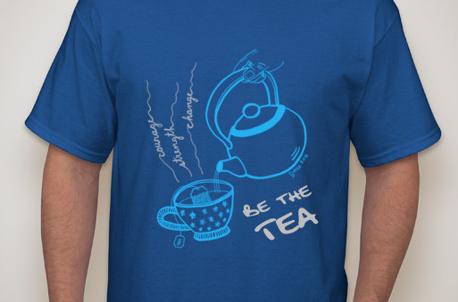 Be the Tea, Buy the Tee to Support Breast Cancer Research