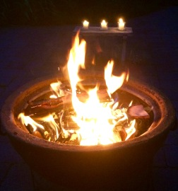 Fire alight