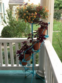 Rehabbed plantstand